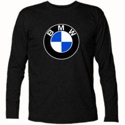 Футболка с длинным рукавом BMW - FatLine