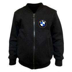 Детский бомбер BMW
