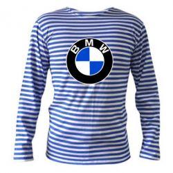 Тельняшка с длинным рукавом BMW - FatLine