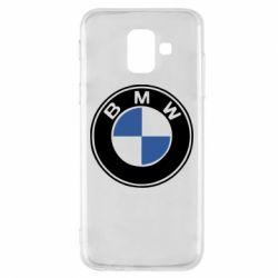 Чехол для Samsung A6 2018 BMW