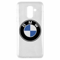 Чехол для Samsung A6+ 2018 BMW - FatLine