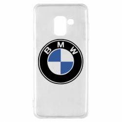Чехол для Samsung A8 2018 BMW - FatLine