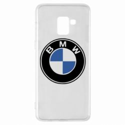 Чехол для Samsung A8+ 2018 BMW