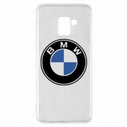 Чехол для Samsung A8+ 2018 BMW - FatLine