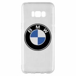 Чехол для Samsung S8+ BMW