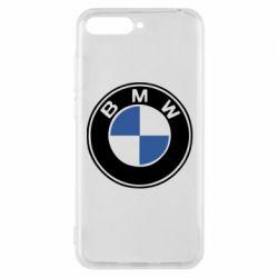 Чехол для Huawei Y6 2018 BMW - FatLine