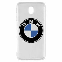 Чехол для Samsung J7 2017 BMW - FatLine