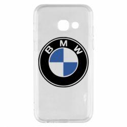 Чехол для Samsung A3 2017 BMW - FatLine