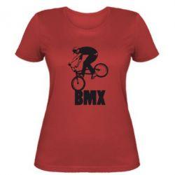 Женская футболка Bmx Boy