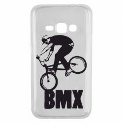 Чехол для Samsung J1 2016 Bmx Boy