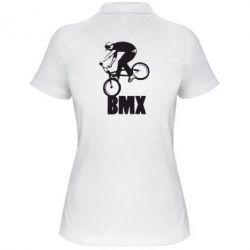 Женская футболка поло Bmx Boy - FatLine