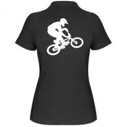 Женская футболка поло BMX Extreme - FatLine