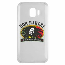 Чехол для Samsung J2 2018 Bob Marley A Tribute To Freedom