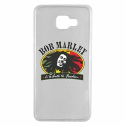 Чехол для Samsung A7 2016 Bob Marley A Tribute To Freedom