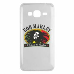 Чехол для Samsung J3 2016 Bob Marley A Tribute To Freedom