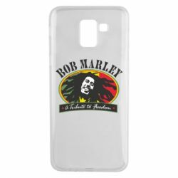 Чехол для Samsung J6 Bob Marley A Tribute To Freedom