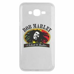 Чехол для Samsung J7 2015 Bob Marley A Tribute To Freedom