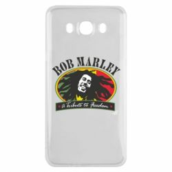 Чехол для Samsung J7 2016 Bob Marley A Tribute To Freedom