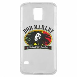 Чехол для Samsung S5 Bob Marley A Tribute To Freedom