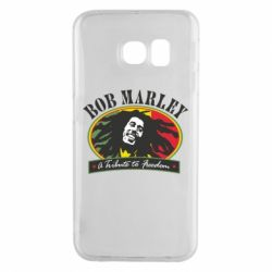 Чехол для Samsung S6 EDGE Bob Marley A Tribute To Freedom