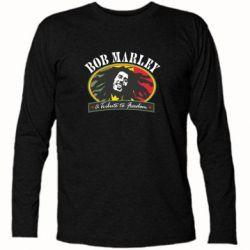 Купить Футболка с длинным рукавом Bob Marley A Tribute To Freedom, FatLine