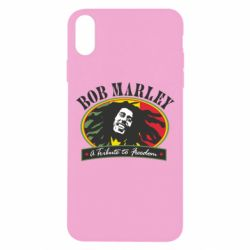 Чехол для iPhone Xs Max Bob Marley A Tribute To Freedom
