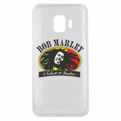Чехол для Samsung J2 Core Bob Marley A Tribute To Freedom
