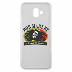 Чехол для Samsung J6 Plus 2018 Bob Marley A Tribute To Freedom