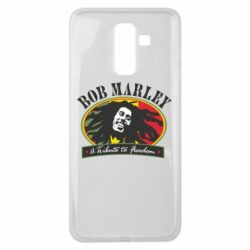 Чехол для Samsung J8 2018 Bob Marley A Tribute To Freedom