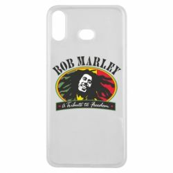Чехол для Samsung A6s Bob Marley A Tribute To Freedom