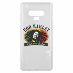Чехол для Samsung Note 9 Bob Marley A Tribute To Freedom