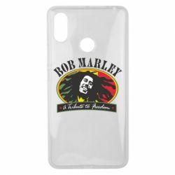 Чехол для Xiaomi Mi Max 3 Bob Marley A Tribute To Freedom