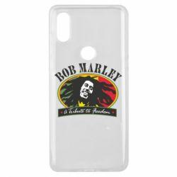 Чехол для Xiaomi Mi Mix 3 Bob Marley A Tribute To Freedom