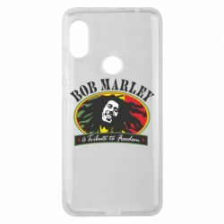 Чехол для Xiaomi Redmi Note 6 Pro Bob Marley A Tribute To Freedom