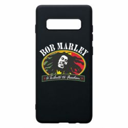 Чехол для Samsung S10+ Bob Marley A Tribute To Freedom