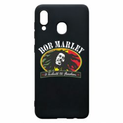 Чехол для Samsung A20 Bob Marley A Tribute To Freedom