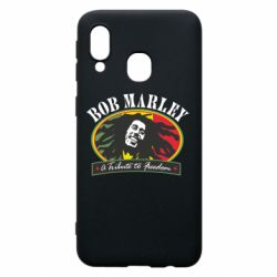 Чехол для Samsung A40 Bob Marley A Tribute To Freedom