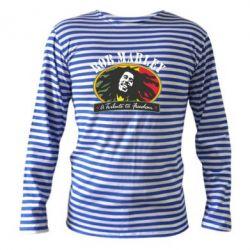 Тельняшка с длинным рукавом Bob Marley A Tribute To Freedom - FatLine