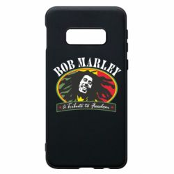 Чехол для Samsung S10e Bob Marley A Tribute To Freedom