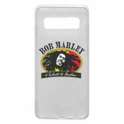 Чехол для Samsung S10 Bob Marley A Tribute To Freedom