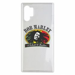 Чехол для Samsung Note 10 Plus Bob Marley A Tribute To Freedom