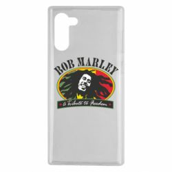 Чехол для Samsung Note 10 Bob Marley A Tribute To Freedom