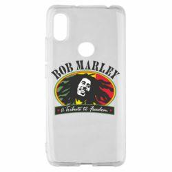 Чехол для Xiaomi Redmi S2 Bob Marley A Tribute To Freedom