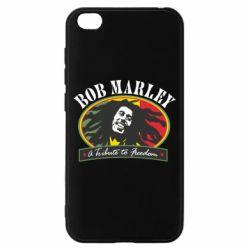 Чехол для Xiaomi Redmi Go Bob Marley A Tribute To Freedom