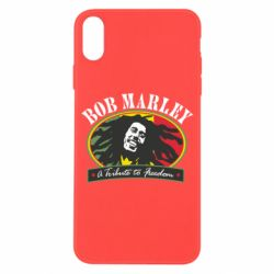 Чехол для iPhone X/Xs Bob Marley A Tribute To Freedom