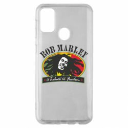 Чехол для Samsung M30s Bob Marley A Tribute To Freedom