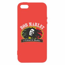 Чехол для iPhone5/5S/SE Bob Marley A Tribute To Freedom