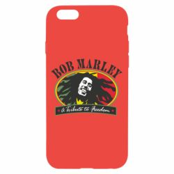 Чехол для iPhone 6/6S Bob Marley A Tribute To Freedom