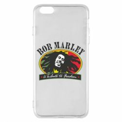 Чехол для iPhone 6 Plus/6S Plus Bob Marley A Tribute To Freedom