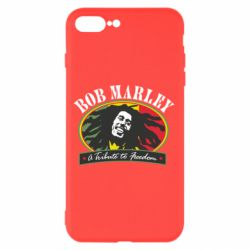Чехол для iPhone 7 Plus Bob Marley A Tribute To Freedom